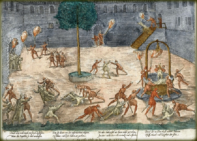 Figure 120 Massacre de la Michelade