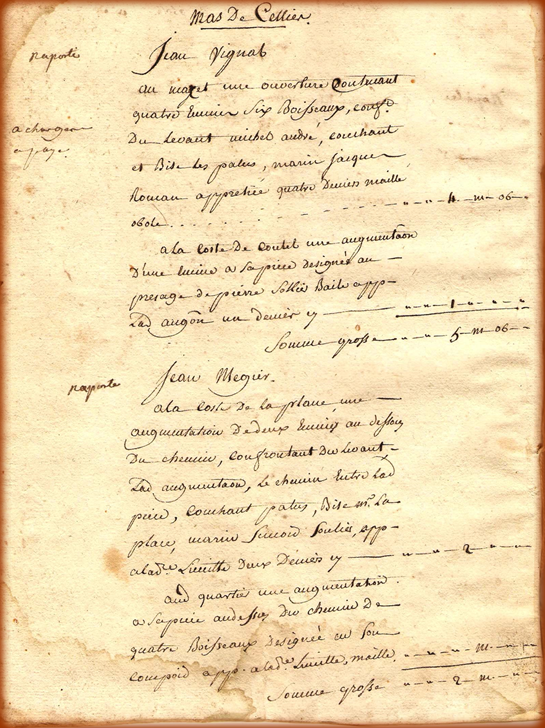 Figure 126 Declaration de defrichement